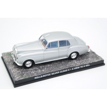 "Altaya Rolls-Royce Silver Cloud II ""A View to a Kill (1985)"" 1958 - Silver Metallic"