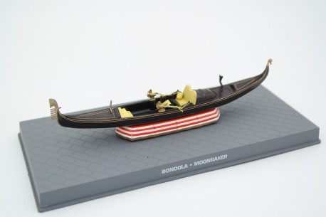 "Altaya Gondola Hovercraft (Bondola) ""Moonraker (1979)"" 1979 - Brown/Red+White"