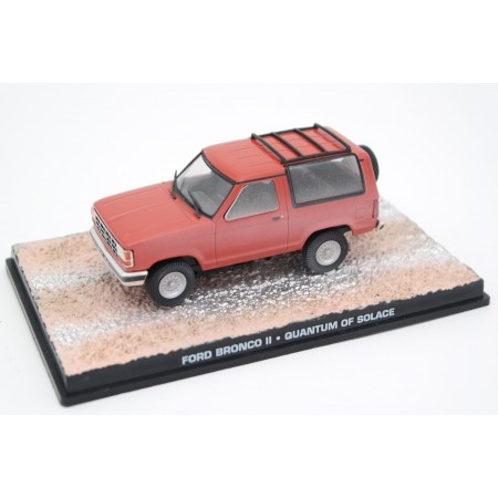 "Altaya Ford Bronco II XLT ""Quantum of Solace (2008)"" 1989 - Coral Red"