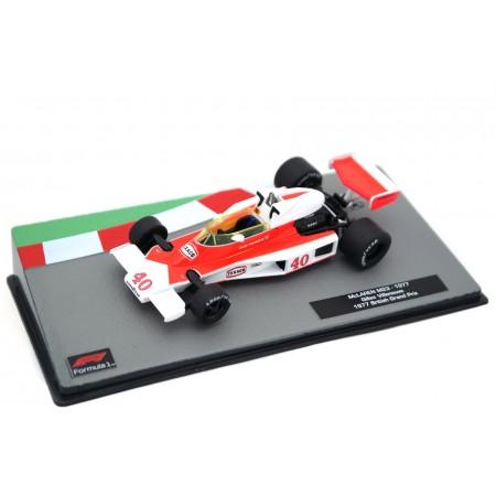 "Centauria McLaren M23 #40 ""Marlboro Team McLaren"" British Grand Prix Formula 1 1977 - Gilles Villeneuve"