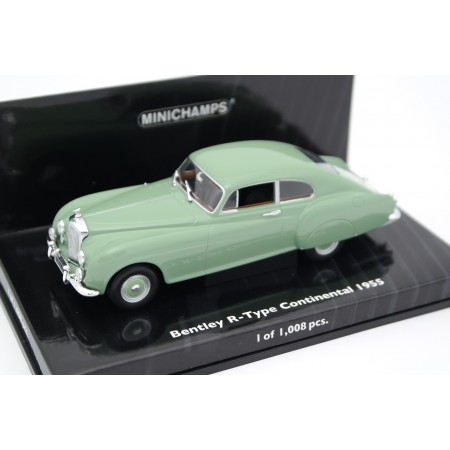 Minichamps Bentley R-Type Continental Fastback Sports Saloon by H. J. Mulliner & Co. 1955 - Celadon Green