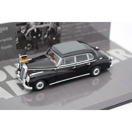 Minichamps Mercedes-Benz 300 b W186 III Konrad Adenauer 1955 - Black