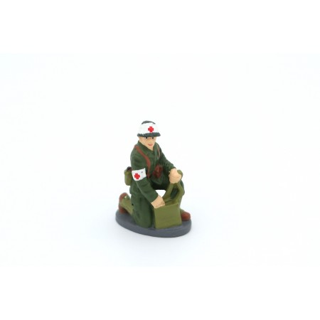 Altaya French Sanitary Soldier 1956 - Military Green