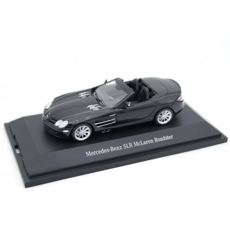 Minichamps Mercedes-Benz SLR McLaren Roadster R199 2008 - Crystal Galaxy Black