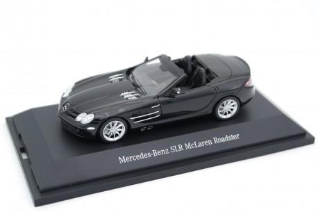 Minichamps Mercedes-Benz SLR McLaren Roadster R199 2008 - Crystal Galaxy Black