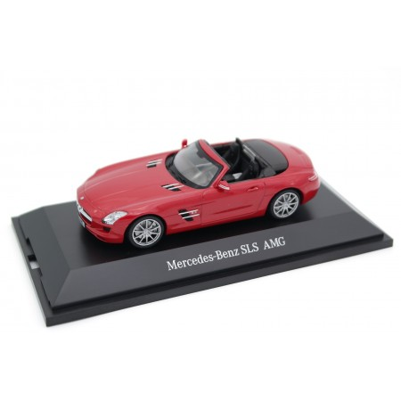 Schuco Mercedes-Benz SLS AMG Roadster 6.3 R197 2011 - Le Mans Red Metallic