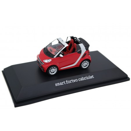 Spark Smart Fortwo Cabriolet A451 2011 - Rally Red