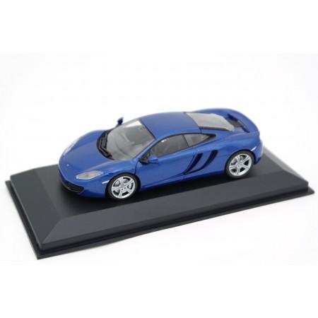 Maxichamps McLaren MP4-12C 2011 - Azure Blue Metallic