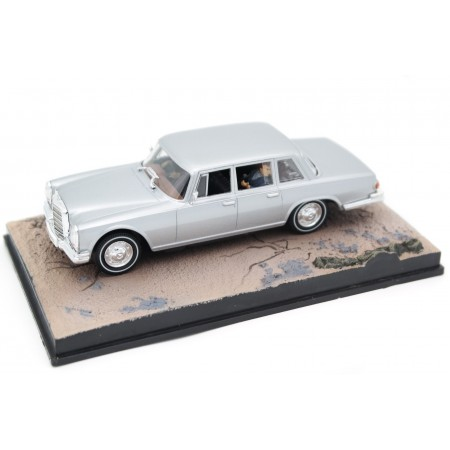 "Altaya Mercedes-Benz 600 W100 ""On Her Majesty's Secret Service (1969)"" 1964 - Silver Metallic"