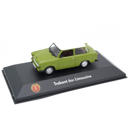 Atlas Trabant 601 Limousine 1963 - Green with White Roof