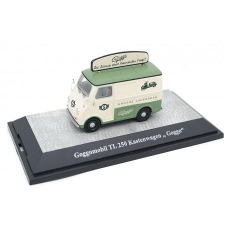 "Premium ClassiXXs Goggomobil Transporter TL 250 Kastenwagen ""Goggo"" 1958 - Beige/Green"