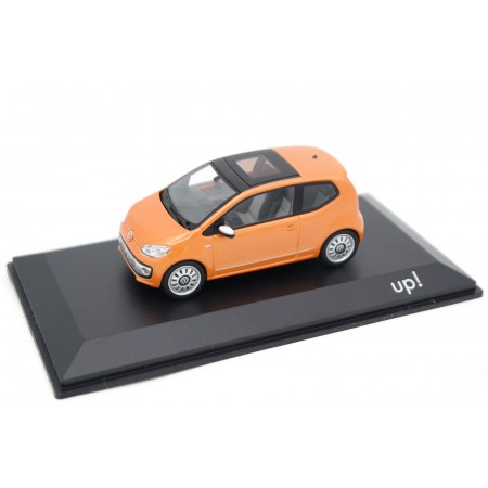 Schuco Volkswagen Up! 3-door VW120 2011 - Hot Orange Metallic