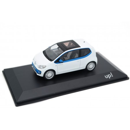 Schuco Volkswagen Winter Up! 3-door VW120 2012 - Candy White with Blue Accents