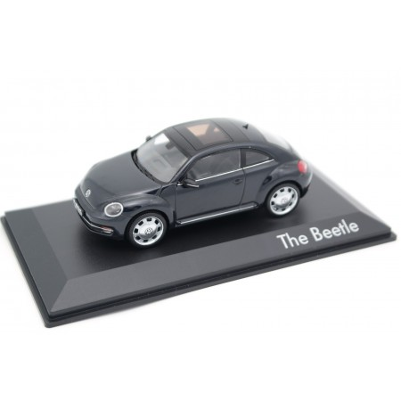 Schuco Volkswagen Beetle Coupé Panoramic Sunroof 5C A5 2012 - Dark Flint Grey Metallic