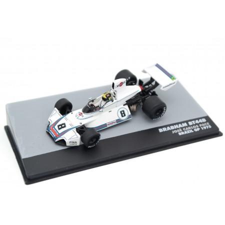 "Altaya Brabham BT44B #8 ""Martini Racing"" Winner Brazilian Grand Prix Formula 1 1975 - José Carlos Pace"