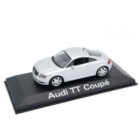 Minichamps Audi TT Coupé 8N 1998 - Light Silver Metallic