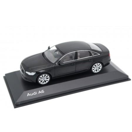 Schuco Audi A6 Limousine C7 2011 - Phantom Black Metallic