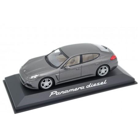 Minichamps Porsche Panamera Diesel 3.0 V6 970 G1 Facelift 2014 - Agate Grey Metallic