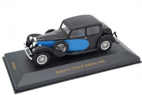IXO Bugatti Type 57 Galibier 1935 - Black/Blue
