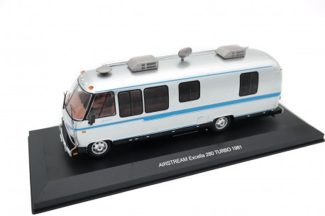 IXO Airstream Excella 280 Turbo 1981 - Silver