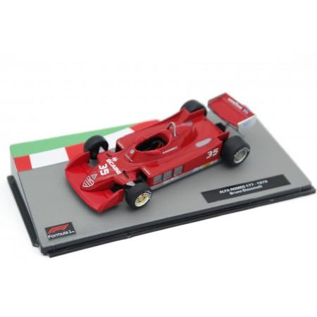 "Centauria Alfa Romeo 177 #35 ""Autodelta"" Formula 1 1979 - Bruno Giacomelli"