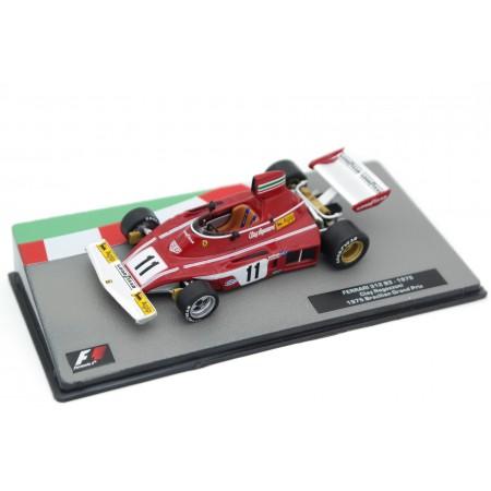 """Centauria Ferrari 312 B3 #11 """"Scuderia Ferrari SpA SEFAC"""" Formula 1 Brazillian Grand Prix 1975 - Clay Regazzoni"""