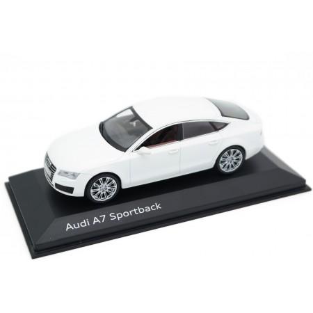 Kyosho Audi A7 Sportback C7 2010 - Ibis White