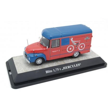 Premium ClassiXXs Opel Blitz 1,75t Van Hercules 1952 - Red/Blue