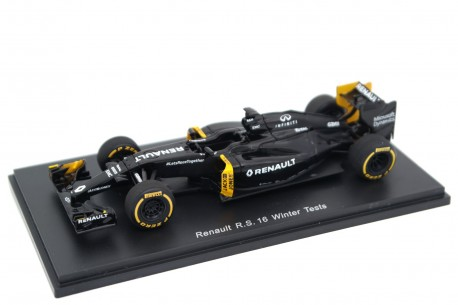"""Spark Renault R.S.16 #0 """"Renault Sport Formula One Team"""" Winter Tests Formula 1 2016 - Jolyon Palmer"""