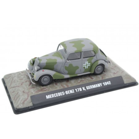 Atlas Mercedes-Benz 170 V W136, Germany 1942 - Military Camouflage