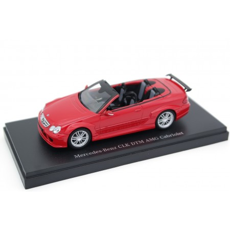 Kyosho Mercedes-Benz CLK-Class DTM AMG Cabriolet Street Version A209 W209 2006 - Mars Red