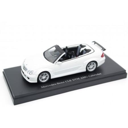 Kyosho Mercedes-Benz CLK-Class DTM AMG Cabriolet Street Version A209 W209 2006 - Alabaster White