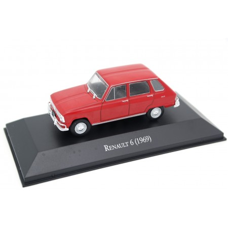 Altaya Renault 6 1969 - Madrid Red