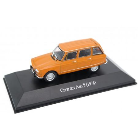 Altaya Citroën Ami 8 1978 - Mandarine Orange