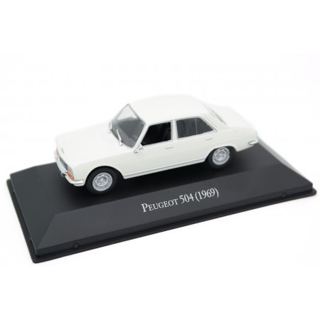 Altaya Peugeot 504 1969 - Arosa White