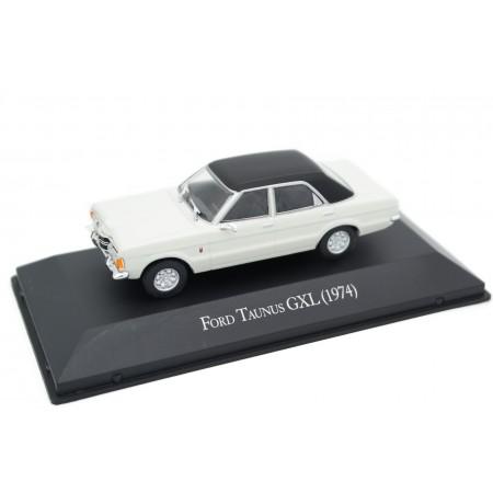 Altaya Ford Taunus TC GXL 1974 - Wimbledon White with Black Roof