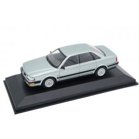 Maxichamps Audi V8 4C 1988 - Zermatt Silver Metallic