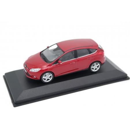 Minichamps Ford Focus 5-door Mark III C346 2011 - Dynamic Red Metallic