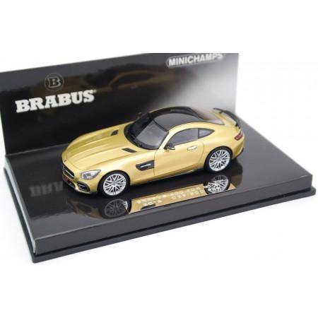 Minichamps Brabus 600 based on Mercedes-Benz AMG GT S C190 2016 - Desert Gold Metallic