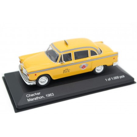 Whitebox Checker Marathon A11 New York Taxi 1963 - Yellow