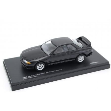 Kyosho Nissan Skyline GT-R V-Spec II BNR32 1994 - Black Pearl Metallic