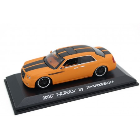 Norev Chrysler 300C Norev by Parotech 2006 - Orange Matt with Black Stripes