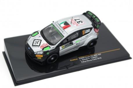 "IXO Ford Fiesta RS WRC #37 ""FWRT s.r.l."" Rally Monte-Carlo 2016 - L.Bertelli/S.Scattolin"