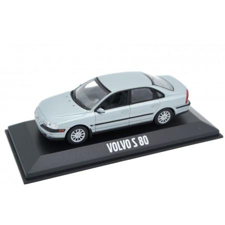 Minichamps Volvo S80 TS 1998 - Pewter Silver Metallic
