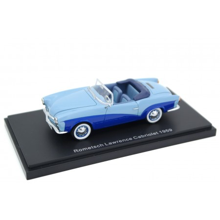 BoS-Models Volkswagen Rometsch Lawrence Cabriolet 1959 - Indigo Blue/Fjord Blue