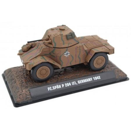 Atlas Panhard Panzerspähwagen P204 (f), Germany 1942 - Military Camouflage