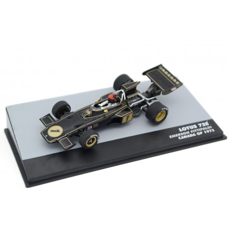 "Altaya Lotus 72E #1 ""John Player Team Lotus"" Canadian Grand Prix Formula 1 1973 - Emerson Fittipaldi"