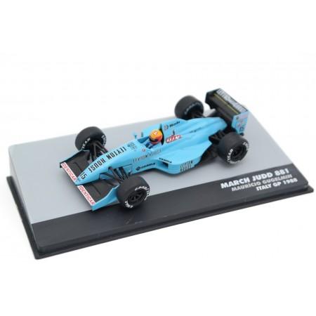 "Altaya March 881 #15 ""Leyton House March Racing Team"" Italian Grand Prix Formula 1 1988 - Maurício Gugelmin"