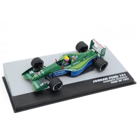 """Altaya Jordan 191 #32 """"Team 7Up Jordan"""" Italian Grand Prix Formula 1 1991 - Roberto Moreno"""