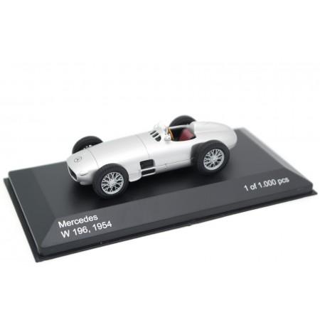 "Whitebox Mercedes W196 ""Daimler Benz AG"" Formula 1 1954 - Silver Metallic"